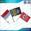 Kundenspezifisches Polyester gedruckte Saugcup-Auto-Markierungsfahnen (M-NF24F03012)