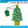 Vara do USB da movimentação da pena da memória Flash da forma da árvore de Natal (por exemplo 102)