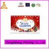 Tarjetas de felicitación de lujo para el surtidor de la Navidad China