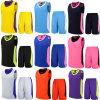 Basket-ball de 2015 le nouveau vêtements de basket-ball vêtx l'impression faite sur commande de robe de boule, chevreaux indiens de procès d'homme adulte 12 couleurs