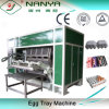 Reciclar Paper Pulp Molded Machine para Egg Tray Production Line 4000PCS/H