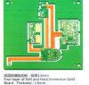 Placa de circuito impreso PCB Four-Layer de inmersión blando y duro de la Junta de Oro, Espesor: 1,6 mm