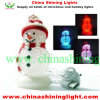 PVC 눈사람 LED 훈장 빛