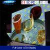 Pantalla de visualización publicitaria de interior de LED del pixel de la alta calidad 4.81m m