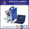 Máquina de fibra óptica de la marca del laser de la tarjeta de circuitos