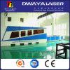 cortador del laser de la fibra 500W con el Ce para la hoja de acero inoxidable de 6m m