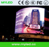 Esposizione di LED su luminosa esterna di colore completo P8