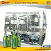 Máquina que capsula de relleno completamente automática de la cerveza