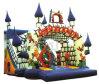 Plättchen-aufblasbares Plättchen der Prinzessin-Castle Standard Slide Bouncy