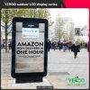 広告の表記を広告するための屋外のデジタル太陽Mupis