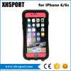 Popular entre el móvil del orificio/la caja impermeables colgantes del teléfono celular para iPhone6/6plus