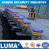 Poteau d'amarrage hydraulique automatique de route de système de contrôle d'accès pour le stationnement de véhicule avertissant le poteau d'amarrage escamotable escamotable
