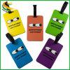 Borracha personalizados de alta qualidade a etiqueta de bagagem e etiqueta de bagagem