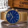 OEM 주문 남자의 석영 손목 시계, 남자 (WY-17016C)를 위한 스위스 손목 시계