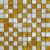 Pared de cristal Tile300*300mm del mosaico del nuevo del diseño 2017 del shell mármol de la mezcla