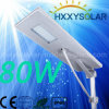 Nuovo indicatore luminoso di via solare Integrated di disegno 80W LED