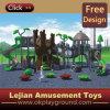 CE Wonder Kidsland plastique Enfants plastique en plein air Aire de jeux (X1279-6)