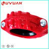 Перечисленный UL, струбцины 12  - 323.9mm дуктильного утюга утверждения FM Grooved твердые