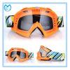 Lunetterie claire simple de protection de lunettes de sûreté de lentille de PC pour le motocyclisme