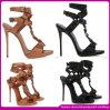 最新のデザイン方法セクシーな女性靴(DEF015)