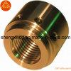 Kupferne Cuprum CNC-Messingdrehbank, welche die maschinell bearbeiteten Teile befestigen Zubehör-Armatur Sx163 maschinell bearbeitet