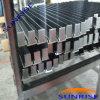 Armature en aluminium anodisée par noir pour le panneau solaire