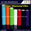 華麗なダイヤモンドのフィルム、真珠色のダイヤモンド車の覆いのビニールのフィルム