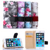 2015 forma Flower Leather Caso para Mobile Phone com Beautiful Design Package