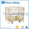Cage en acier inoxydable à rouleaux pliants