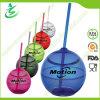 500ml Copa de paja en forma de bola, sin BPA (TB-A5)