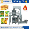 Nuova macchina imballatrice automatica verticale delle patatine fritte della frittura