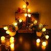 Света шнура Halloween тыквы СИД
