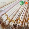 Tubo di ceramica di protezione della termocoppia dell'allumina di buona stabilità chimica