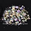 Kunst-Dekoration-Acryldiamant des Nagel-3D formt Rhinestones zu den Nagel-Kunst-Zubehör