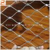 Декоративная с обжимным кольцом проволочного каната сетки для защиты зоопарка