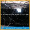 Китайский дешевый черный камень, Polished мрамор Nero Marquina черный