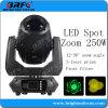 Mini 250Вт Светодиодные месте зум при перемещении Колошения осветительного оборудования
