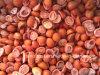 IQFのチェリートマト、フリーズされたチェリートマト、半分またはスライスされる