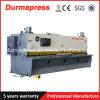 QC11k hydraulische Ausschnitt-Maschinen für den Stahlrod/einfaches Geschäft CNC scherende Maschinen-elektrische Scheren für Blech