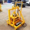Mini-Máquinas de tijolos de barro oco40-3Qt c Preço de máquina para fazer blocos móveis