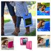 iPad 2/3/4를 위한 자주색 Kickstand 케이스 덮개가 EVA 연약한 거품에 의하여 아이 증거 농담을 한다