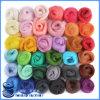 Los precios bajos de la tela de las lanas sin procesar del 100% venden al por mayor el hilado de lanas