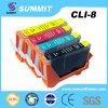 De Patroon van de Inkt van de Kleur van de top Compatibel voor Canon lci-8