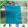 Het aangepaste Plastic Blad van het Dakwerk van het Polycarbonaat Holle Stevige met Goedkope Prijs