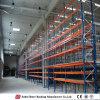 Prateleiras de aço duráveis da cremalheira do armazém de armazenamento da densidade elevada do armazenamento