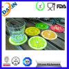 Coaster de silicone écologique, tapis à pâtisserie