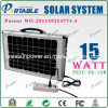 Sistema di illuminazione solare per Notebook/TV (PETC-FD-15W)