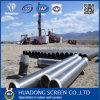 Rostfreier Steel304L Johnson Bildschirm/schweißte Ring-Form-Keil-Draht-Bildschirm