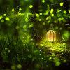luz da corda do jardim do Firefly de 6*3m para a decoração interna e ao ar livre