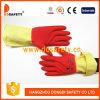 Перчатки Латексные Хозяйственные Красные и Жёлтые с CE (DHL213)